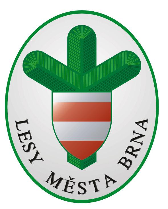 Logo společnosti Lesy města Brna